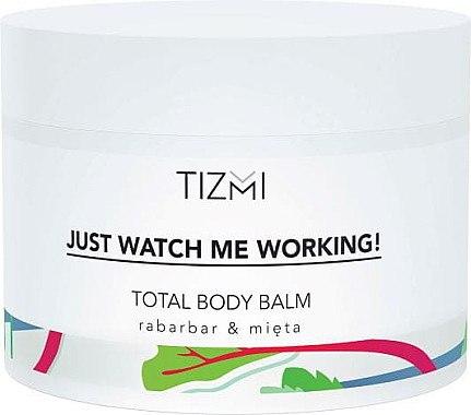 Körperbalsam - Tizmi Total Body Balm Rhubarb & Mint — Bild N1