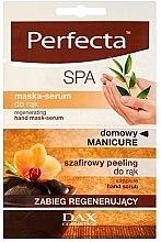 Düfte, Parfümerie und Kosmetik Regenerierende Handpeeling-Maske - Perfecta Spa Hand Peeling