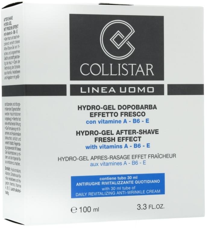 Gesichtspflegeset - Collistar (After Shave Gel/100ml + Anti-Falten Creme/30ml) — Bild N1