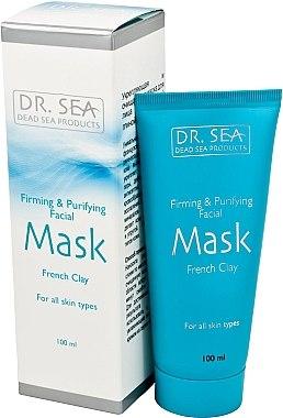 Straffende und reinigende Gesichtsmaske mit französischer Tonerde - Dr. Sea Firming and Purifying Facial Mask — Bild N1