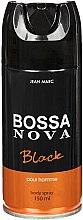 Düfte, Parfümerie und Kosmetik Jean Marc Bossa Nova Black - Deospray für Männer