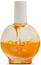 Düfte, Parfümerie und Kosmetik Regenerierendes 2-Phasen-Öl für Nägel und Nagelhaut Gelbe Blumen - Kabos Nail Oil Yellow Flowers