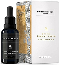 Düfte, Parfümerie und Kosmetik Anti-Aging-Gesichtsöl - Edible Beauty Exotic Seed of Youth Anti-Ageing Oil