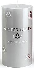 Düfte, Parfümerie und Kosmetik Duftkerze grau 9x8 cm - Artman Winter Glass