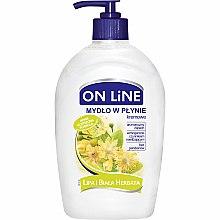 Düfte, Parfümerie und Kosmetik Flüssigseife mit Linden und weißem Tee - On Line Liquid Soap