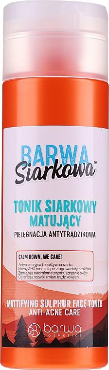 Antibakterielles Anti-Akne Gesichtstonikum - Barwa Anti-Acne Sulfuric Tonik — Bild N1