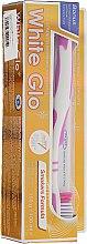 Düfte, Parfümerie und Kosmetik Mundpflegeset für Raucher - White Glo Smokers Formula Whitening Toothpaste (Zahnpasta 100ml + Zahnbürste)