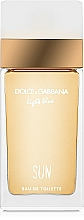 Düfte, Parfümerie und Kosmetik Dolce & Gabbana Light Blue Sun Pour Femme - Eau de Toilette