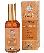 Düfte, Parfümerie und Kosmetik Ayurvedisches Anti-Aging Gesichts- und Körperöl - Khadi Anti-Aging Ayurvedic Rejuvenating Oil