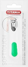 Düfte, Parfümerie und Kosmetik Nagelknipser verchromt weiß-grün - Titania