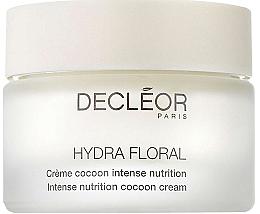 Düfte, Parfümerie und Kosmetik Nährende Gesichtscreme mit Sheabutter, Argan- und Avocadoöl für trockene Haut - Decleor Hydra Floral Intense Nutrition Cocoon Cream