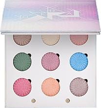 Düfte, Parfümerie und Kosmetik Lidschatten-Palette - Ofra Glitch 2000 Baked Eyeshadow Palette