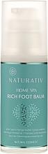 Düfte, Parfümerie und Kosmetik Fußbalsam - Naturativ Home Spa Rich Foot Balm