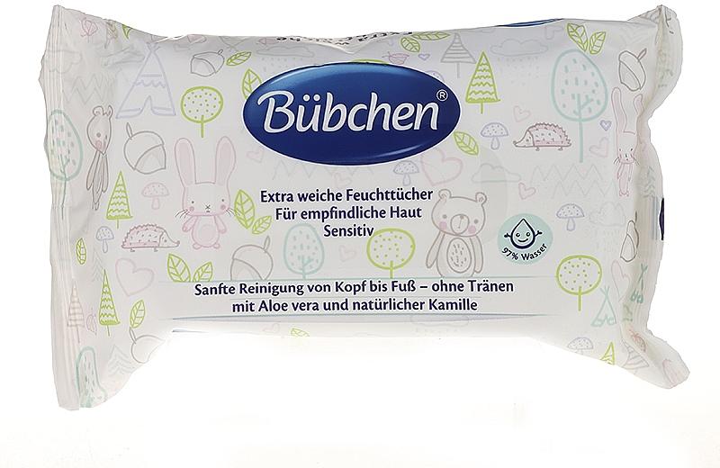 Feuchttücher für empfindliche Haut - Bubchen Sensitive Care — Bild N1