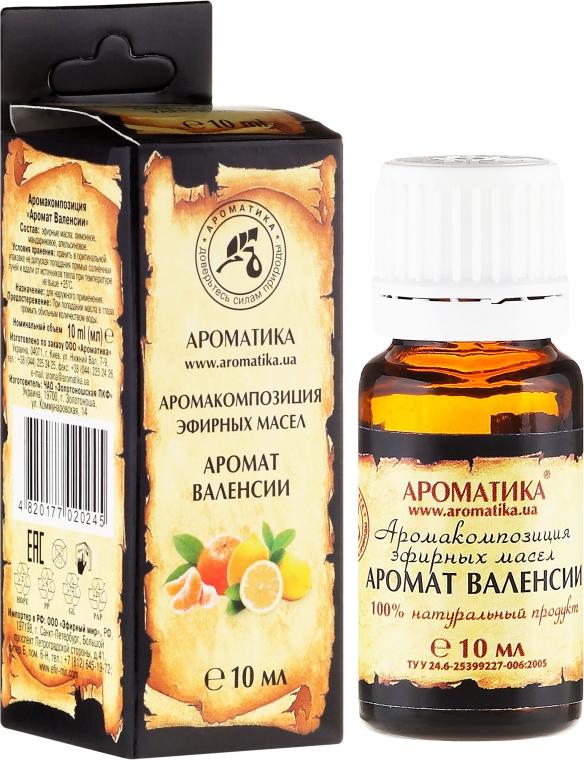 Ätherisches Bio Öl mit Valencia Aroma - Aromatika — Bild N1