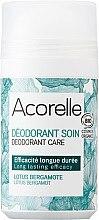 Düfte, Parfümerie und Kosmetik Bio Deo Roll-on mit Bergamotte und Lotus - Acorelle Deodorant Care