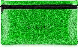 Düfte, Parfümerie und Kosmetik Kosmetiktasche Glitter Pouch grün 22x13 cm - MakeUp