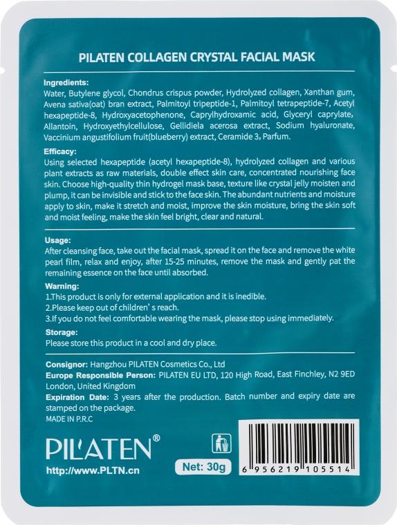 Milde feuchtigkeitsspendende und nährende Gesichtsmaske mit Kollagen - Pilaten Collagen Facial Mask — Bild N2