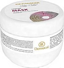 Düfte, Parfümerie und Kosmetik Maske für gefärbtes Haar - Dermacol Hair Color Mask