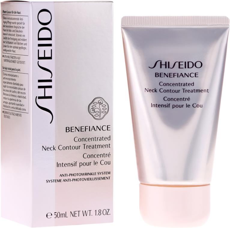 Konzentrierte Anti-Falten Hals- und Dekolleté-Creme - Shiseido Benefiance Concentrated Neck Contour Treatment — Bild N1