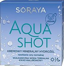 Düfte, Parfümerie und Kosmetik Cremiges mineralisches Gesichtshydrogel für normale Haut - Soraya Aquashot