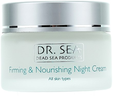 Straffende und pflegende Nachtcreme - Dr. Sea Firming & Nourishing Night Cream — Bild N2