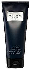 Düfte, Parfümerie und Kosmetik Abercrombie & Fitch First Instinct Blue - Duschgel für Männer