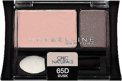 Lidschatten - Maybelline Expert Wear Chic Naturals Eyeshadow Duos — Bild N1