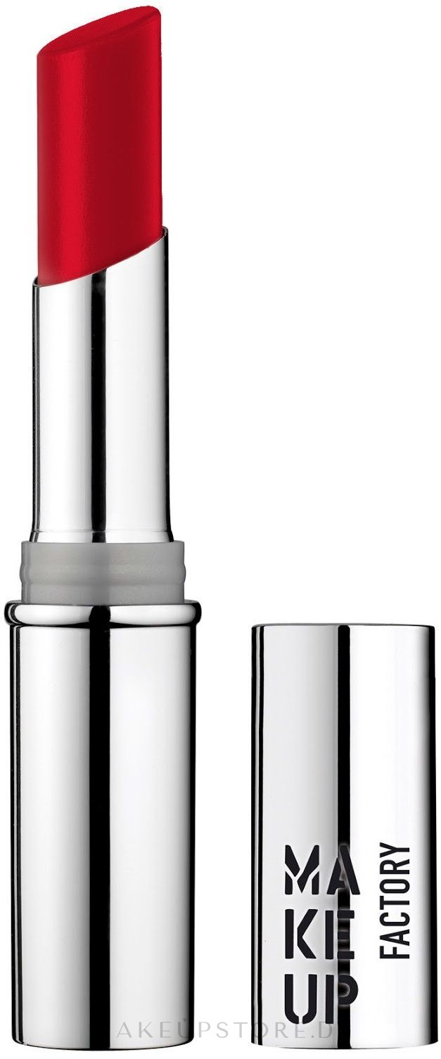 Lippenstift - Make Up Factory Glossy Lip Stylo — Bild 10 - Sicilian Red