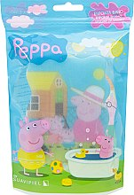 Düfte, Parfümerie und Kosmetik Kinderbadeschwamm Peppa Pig Sommer - Suavipiel Peppa Pig Bath Sponge