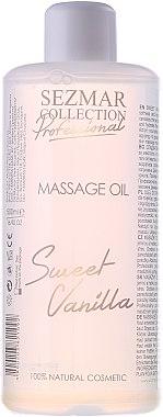 Massageöl Süße Vanille - Hristina Cosmetics Sezmar Professional Massage Oil Sweet Vanilla — Bild N1