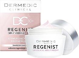 Düfte, Parfümerie und Kosmetik Stimulierende und regenerierende Nachtcreme gegen Mimikfalten 30+ - Dermedic Regenist ARS 3 Night Stimulating And Regenerating Cream