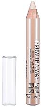 Düfte, Parfümerie und Kosmetik Highlighter-Stift für die Augenbrauen - Rimmel Brow This Way