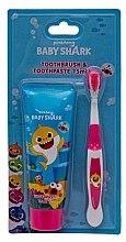 Düfte, Parfümerie und Kosmetik Zahnpflegeset für Kinder - Pinkfong Baby Shark (Zahnpasta 75ml + Zahnbürste 1St.)