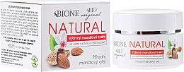 Düfte, Parfümerie und Kosmetik Pflegende Gesichtscreme mit Mandelöl - Bione Cosmetics Cream For Very Dry And Sensitive Skin