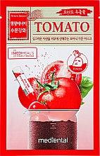 Düfte, Parfümerie und Kosmetik Gesichtsmaske mit Tomate - Mediental Botanic Garden Mask