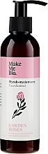 Düfte, Parfümerie und Kosmetik Reinigendes und regenerierendes Gesichtsserum mit Rosenwasser - Make Me Bio Garden Roses Face Cleanser