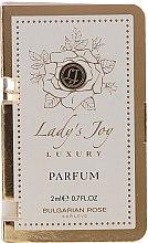 Düfte, Parfümerie und Kosmetik Bulgarian Rose Ladys Joy Luxury - Parfüm (mini)