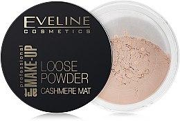 Düfte, Parfümerie und Kosmetik Loser mattierender Puder - Eveline Cosmetics Loose Powder Cashmere Mat