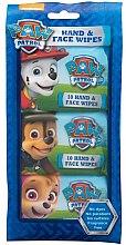 Düfte, Parfümerie und Kosmetik Kinder-Feuchttücher für Gesicht und Hände 3x10 St. - Nickelodeon Paw Patrol Hand & Face Wipes