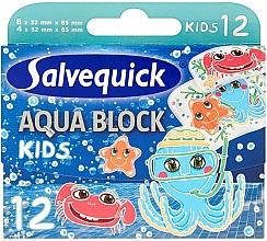Düfte, Parfümerie und Kosmetik Wasserfeste Kinder-Pflaster Aqua Block - Salvequick Aqua Block Kids Slices