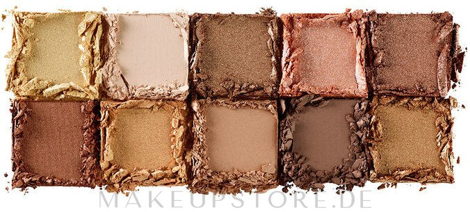 Lidschattenpalette - NYX Professional Makeup Perfect Filter Shadow Palette — Bild 01 - Golden Hour