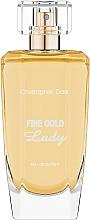 Düfte, Parfümerie und Kosmetik Christopher Dark Fine Gold Lady - Eau de Parfum