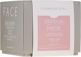 Düfte, Parfümerie und Kosmetik Gesichts- und Halsmaske für die Nacht mit Moosbeerextrakt - Surgic Touch Peptha Mask