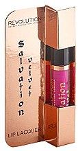 Düfte, Parfümerie und Kosmetik Lipgloss - Makeup Revolution Salvation Velvet Lip Lacquer