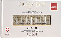 Düfte, Parfümerie und Kosmetik Wiederherstellendes Lotion-Konzentrat zum Haarwachstum für Frauen 200 - Labo Crescina HFSC Re-Growth 200