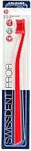 Düfte, Parfümerie und Kosmetik Zahnbürste mittel Colours rot - SWISSDENT Profi Colours Soft-Medium Toothbrush Red&Red