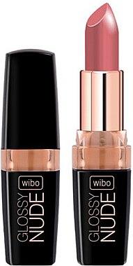 Lippenstift - Wibo Glossy Nude Lipstick — Bild N1