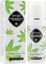 Düfte, Parfümerie und Kosmetik Nährende Gesichtscreme mit Cannabidiol und Stammzellen - Ryor Cannabis Derma Care Nourishing Hemp Cream With Stem Cells