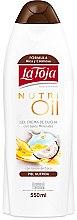 Düfte, Parfümerie und Kosmetik Creme-Duschgel mit Kokosöl - La Toja Hidrotermal Nutri Oil Shower Gel